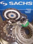 AUDI A3 S3 1.8T NEW SACHS DUAL MASS FLYWHEEL & CARBON KEVLAR CLUTCH